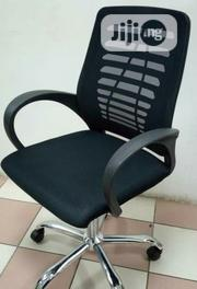 This Is High Quality Brand New Office Chair Stainless Star Leg | Furniture for sale in Rivers State, Port-Harcourt
