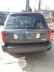 Honda Pilot 2003 EX-L 4x4 (3.5L 6cyl 5A) Gray | Cars for sale in Lagos State, Mushin