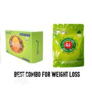 Best Weight Loss Combo - Heshoutang Eastern Coffee and Detoxlim Tea | Vitamins & Supplements for sale in Lagos State, Ikeja
