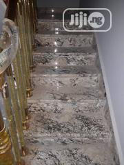 Well Finished Step With ALASKA WHITE GRANITE 1.20 ×030 | Building Materials for sale in Lagos State, Orile