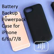 JLW 5,000mah Powerpack Battery Support Case for iPhone 8,7,6, 6S | Accessories for Mobile Phones & Tablets for sale in Lagos State, Ikeja