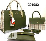 Vintag Female 3 in 1 Bold Green Handbag | Bags for sale in Lagos State, Lagos Island