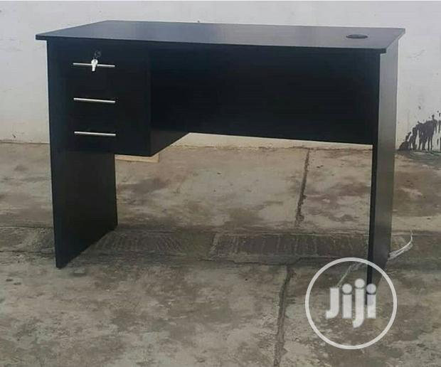 A Brand New Wenge Office Table With Three Drawers