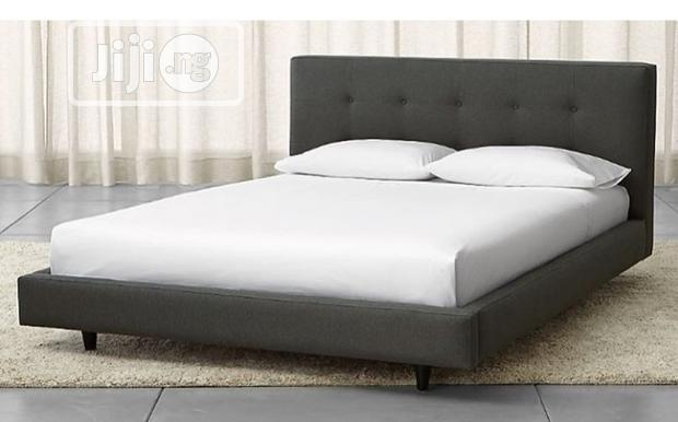 A Brand New Grey Color Family Size Bedframe