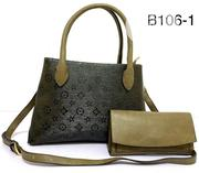 New Ladies Floral Print Leather Handbag and Purse | Bags for sale in Lagos State, Lagos Island