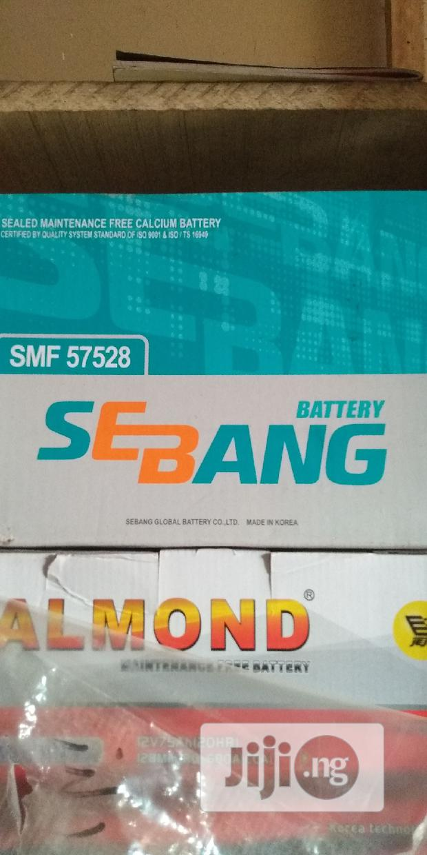 Sebang Battery For Toyota Camry