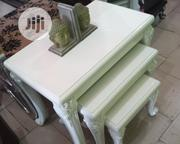 3in1 Table With Sidestools for Small Palour. | Furniture for sale in Lagos State, Ikoyi