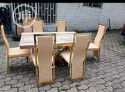 Durable Golden Marble Dinning | Furniture for sale in Abuja (FCT) State, Asokoro