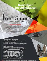 Intri-sique Fashion School Lekki Phase 1 | Classes & Courses for sale in Lagos State, Lekki Phase 1