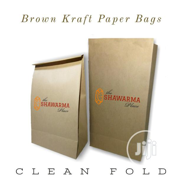 Brown Paper Bags Without Handle/Food Packaging/Paper Bags/Food Bags