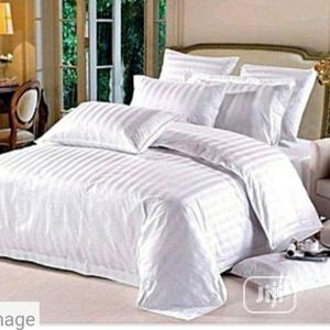 Pure American White Stripe Duvet Set 6/6