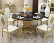 Classic 6setters Round Dinning Table Chairs | Furniture for sale in Lagos State, Ojodu