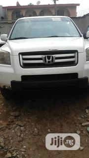 Honda Pilot 2006 EX-L 4x4 (3.5L 6cyl 5A) White | Cars for sale in Lagos State, Lagos Mainland