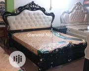 Quality Royal Bed With Bed Side And Dressing Mirror | Home Accessories for sale in Lagos State, Ojo