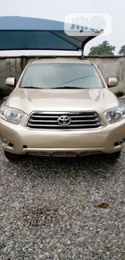Toyota Highlander Limited 2008 Gold | Cars for sale in Lagos State, Agege