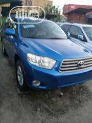 Toyota Highlander 2008 Limited 4x4 Blue | Cars for sale in Lagos State, Apapa