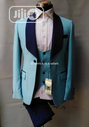 Sky Blue 3pieces Tuxedo | Clothing for sale in Lagos State, Lagos Island