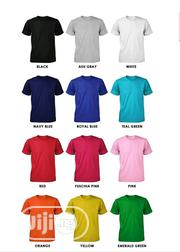 Plain Round Neck T-shirt | Clothing for sale in Lagos State, Ifako-Ijaiye