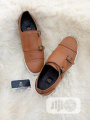 Golden Brown Monk Strp Sneakers. | Shoes for sale in Lagos State, Lagos Mainland