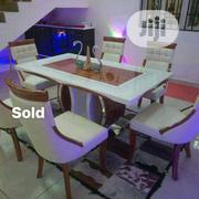 Royal Marbel Dining Table With 6 Chairs | Furniture for sale in Lagos State, Ojo