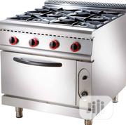 Original Stainless 4 Burners Industrial Gas Cooker | Restaurant & Catering Equipment for sale in Lagos State, Ojo