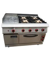 Quality Quaranteed Industrial Gas Cooker With Grills Oven | Restaurant & Catering Equipment for sale in Lagos State, Ojo