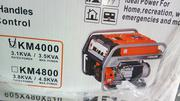 Kemage Generator 3.2 Kva 100% Coper.Key&Tyer. | Electrical Equipments for sale in Lagos State, Ojo