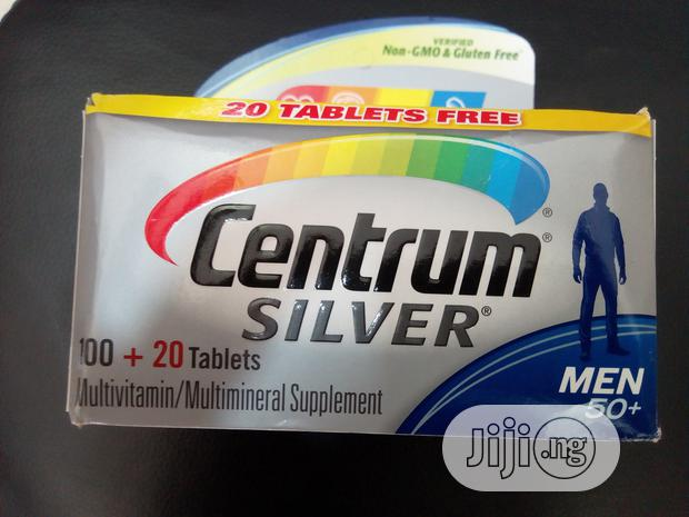 Archive: Centrum Silver Multivitamin Men 50+