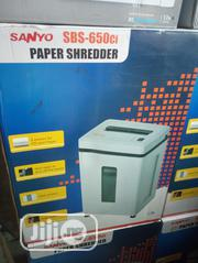 Sanyo Paper Shredder Big Size | Stationery for sale in Lagos State, Ikeja