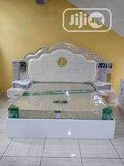 Luxury Bed With Side Drawer | Furniture for sale in Lagos State, Ojo