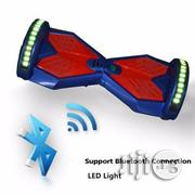 Hoverboard + Bluetooth + Mp3 Speakers - Blue and Red | Sports Equipment for sale in Lagos State, Ikeja