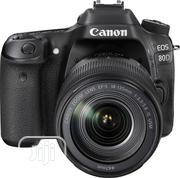 Canon EOS 80d Professional Dslr Camera With 18-135 Lens | Photo & Video Cameras for sale in Lagos State, Ikeja