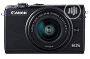 Canon EOS M100 Professional Dslr Camera With 18-44 STM | Photo & Video Cameras for sale in Lagos State, Ikeja
