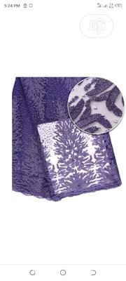 Flowery Lace Matrial - Purple. | Clothing for sale in Lagos State, Surulere