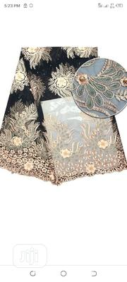 Black Peach Lace Fabric- Female. | Clothing for sale in Lagos State, Surulere