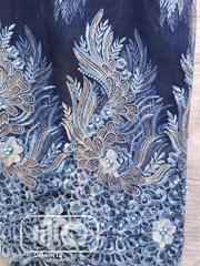 Blue Peach Lace Fabric | Clothing for sale in Lagos State, Surulere