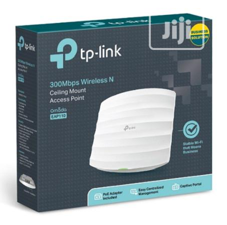 Tp-Link 300mbps Wireless N Ceiling Mount Access Point - EAP110