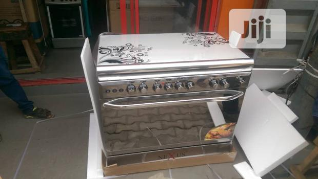 Super Nexus Standing Gas Six Burner 4 By 2 Automatic + Oven Grill