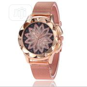 Luxury Brand Rose Gold Women Watch Fashion Casual Crystal | Watches for sale in Lagos State, Ikorodu