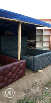 Leather Or Close Drafts Bed | Furniture for sale in Oyo State, Ibadan North East
