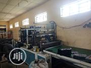 1000 Mm Taiwan Double Decker Nylon Cutting Machinr | Manufacturing Equipment for sale in Bayelsa State, Yenagoa