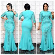Luxry Turkey Female Chiffon Dinner Long Gown | Clothing for sale in Lagos State, Amuwo-Odofin