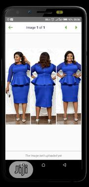Turkey Classic Female Blue Gown | Clothing for sale in Lagos State, Amuwo-Odofin