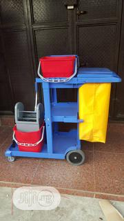 Quality Mopping Cat Trolley Set With 4 Buckets | Home Accessories for sale in Abuja (FCT) State, Wuse