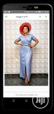New Turkey Lady Vneck Long Gown | Clothing for sale in Amuwo-Odofin, Lagos State, Nigeria