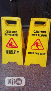 Quality Cleaning Caution Signs | Safety Equipment for sale in Abuja (FCT) State, Wuse