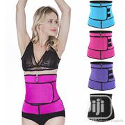 Waist Trainer Slimming Belt Waist Trainer Tummy Body Shaper | Sports Equipment for sale in Lagos State, Surulere