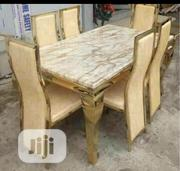 High Quality Marble Dining Table With Chairs | Furniture for sale in Lagos State, Ojo