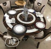 High Quality Round Dining Table With 6 Chairs | Furniture for sale in Lagos State, Ojo