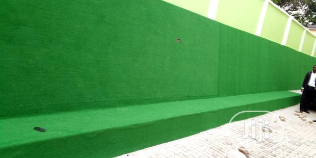 Synthetic Green Wall Artificial Grass